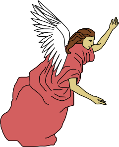 clip art freeuse library Flying Angel Clip Art at Clker