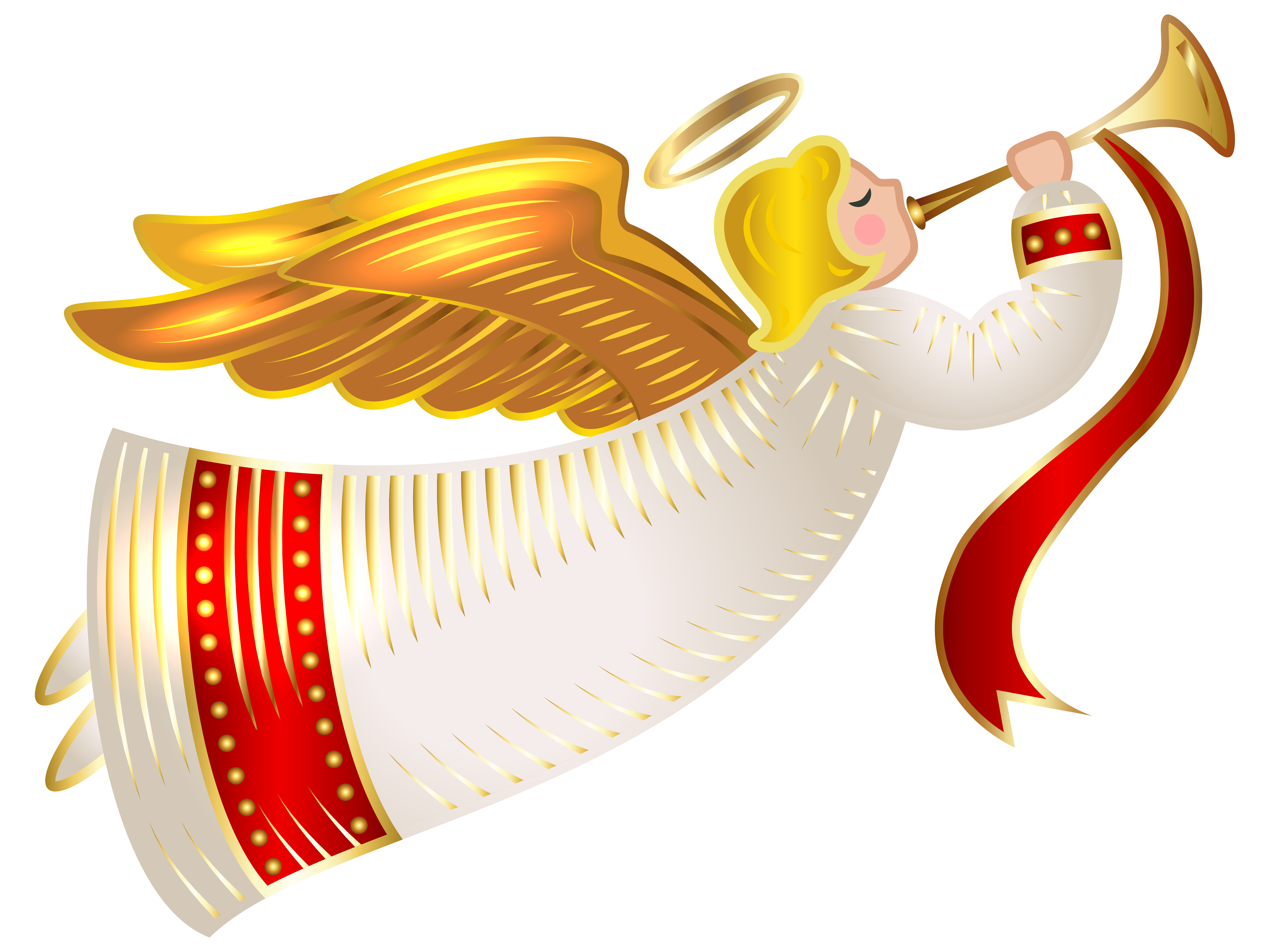 graphic transparent library Christmas Angel Transparent PNG Clip Art Image