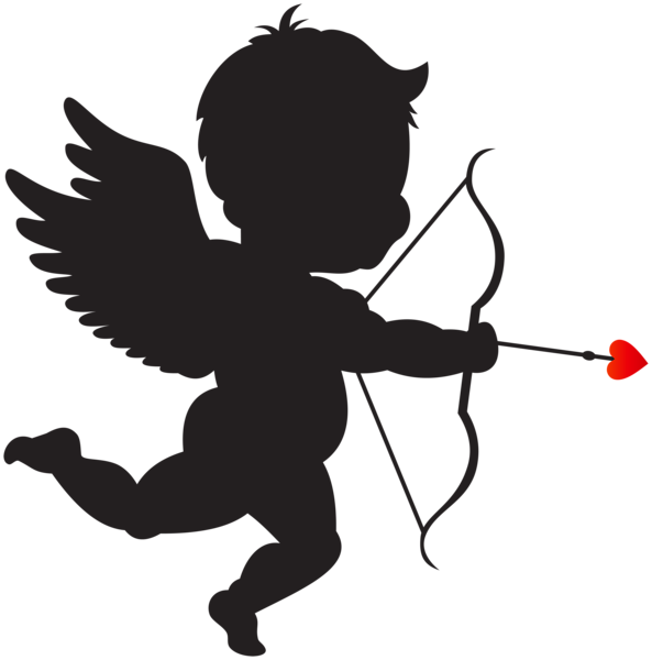 graphic transparent Angel clipart heart. Pin by renato pacheco.