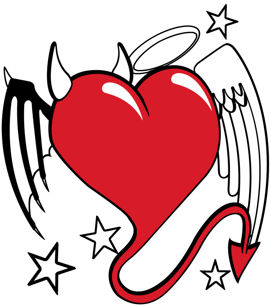 vector transparent stock Angel Heart Drawing at GetDrawings