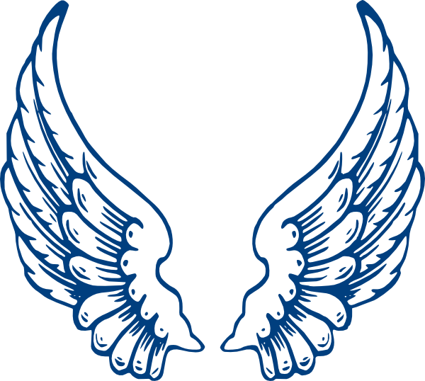 freeuse library Angel Wings Clipart