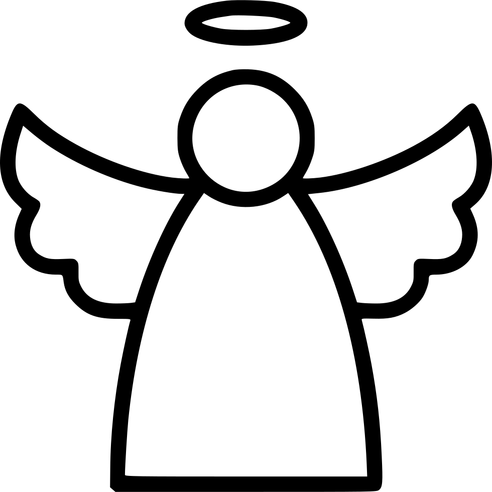 graphic free library Angel Line Svg Png Icon Free Download