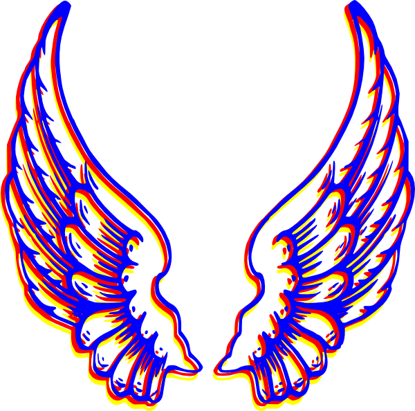 clip art library Angel Wings Clipart at GetDrawings