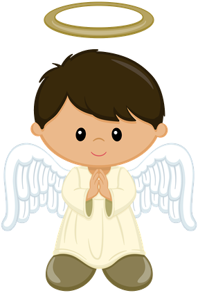 svg royalty free stock Angel boys minus bautismo. Angels clipart