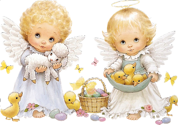 clip stock Angels clipart. Cute easter gallery yopriceville
