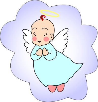 graphic freeuse download Image clip art christart. Vector baby angel