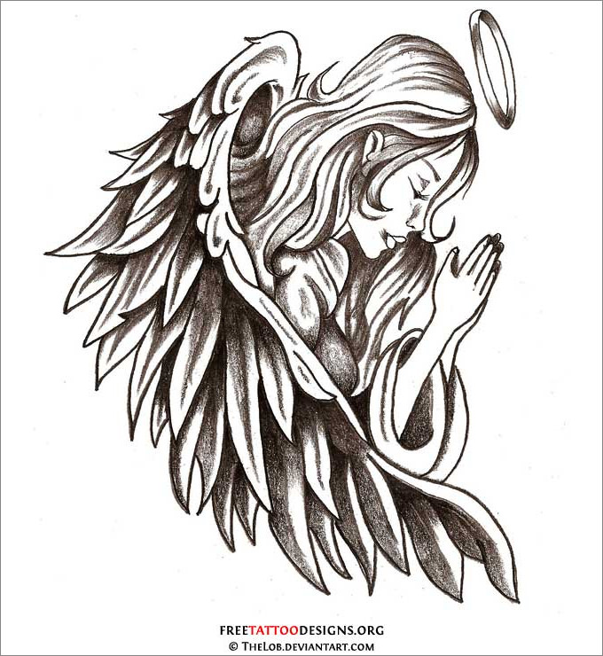 picture royalty free library  drawings free download. Drawing s angel