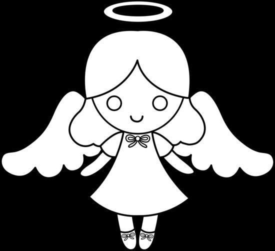 clip art library download drawing kawaii angel #94423355