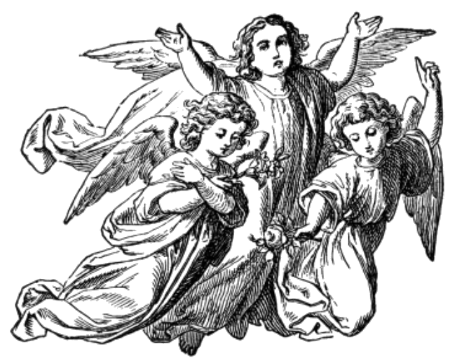 jpg freeuse download Angels catholic png