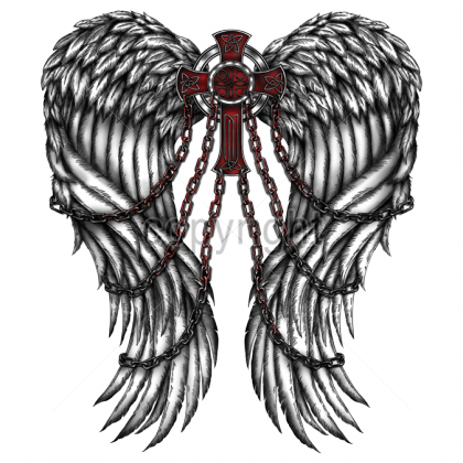 clipart freeuse library Tattoo Finka wings