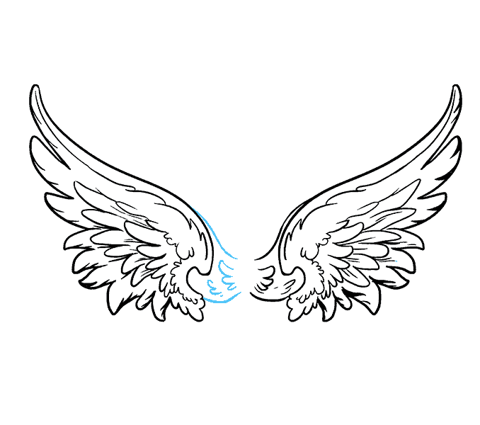 clipart transparent Angel Drawing Step By Step at GetDrawings