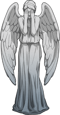 svg library Weeping angel png