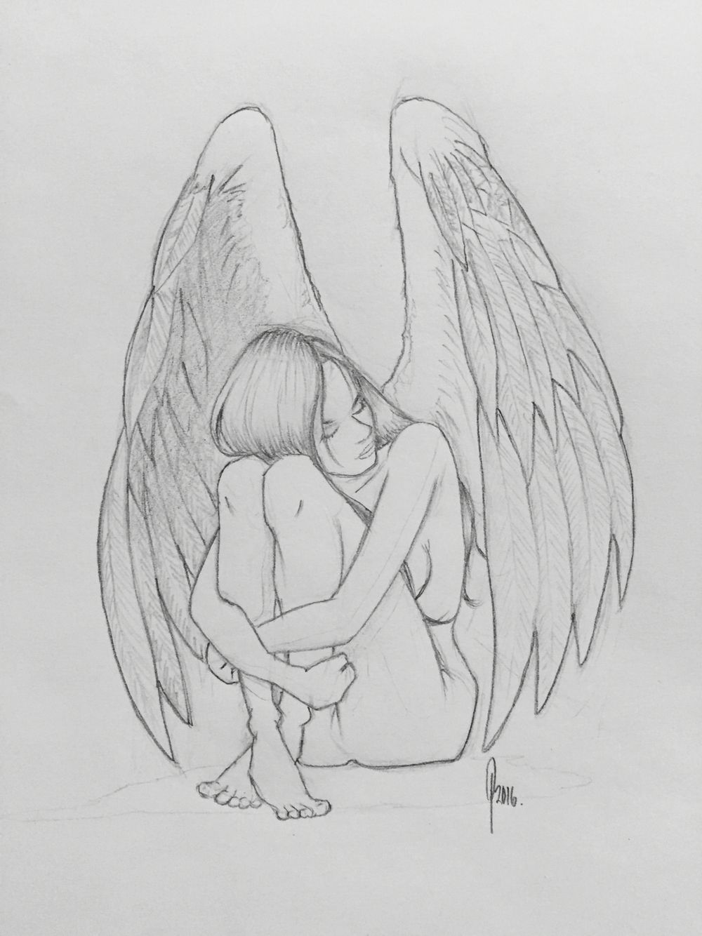 clip freeuse stock Image result for in. Drawing s angel