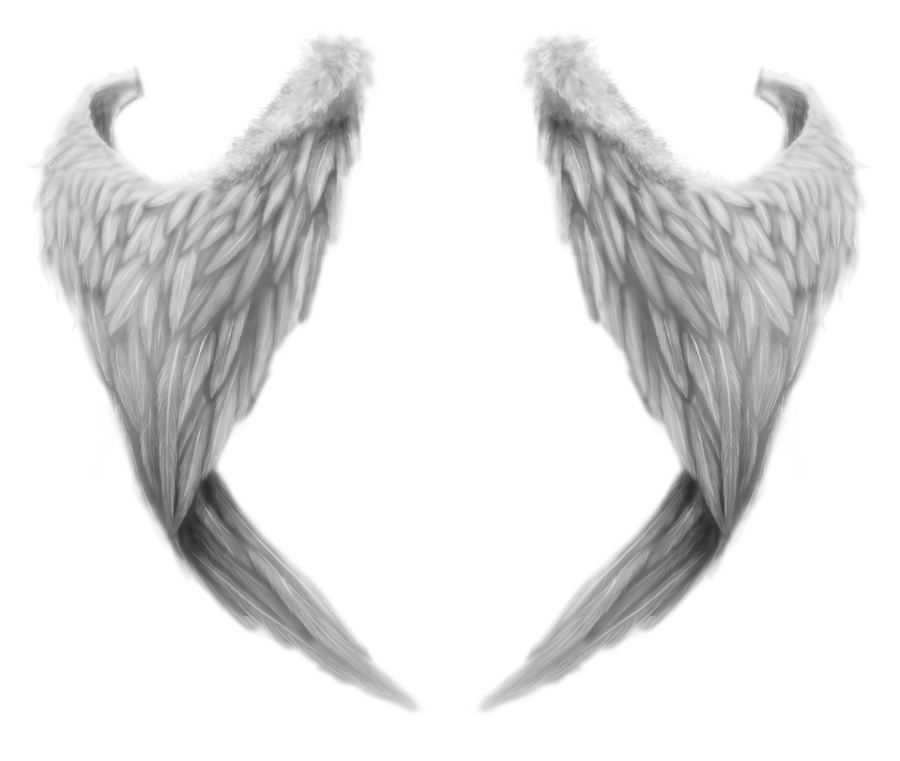 image black and white library Wings PNG images free download