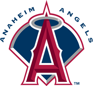 clipart black and white Anaheim angels svg free. Vector angel logo