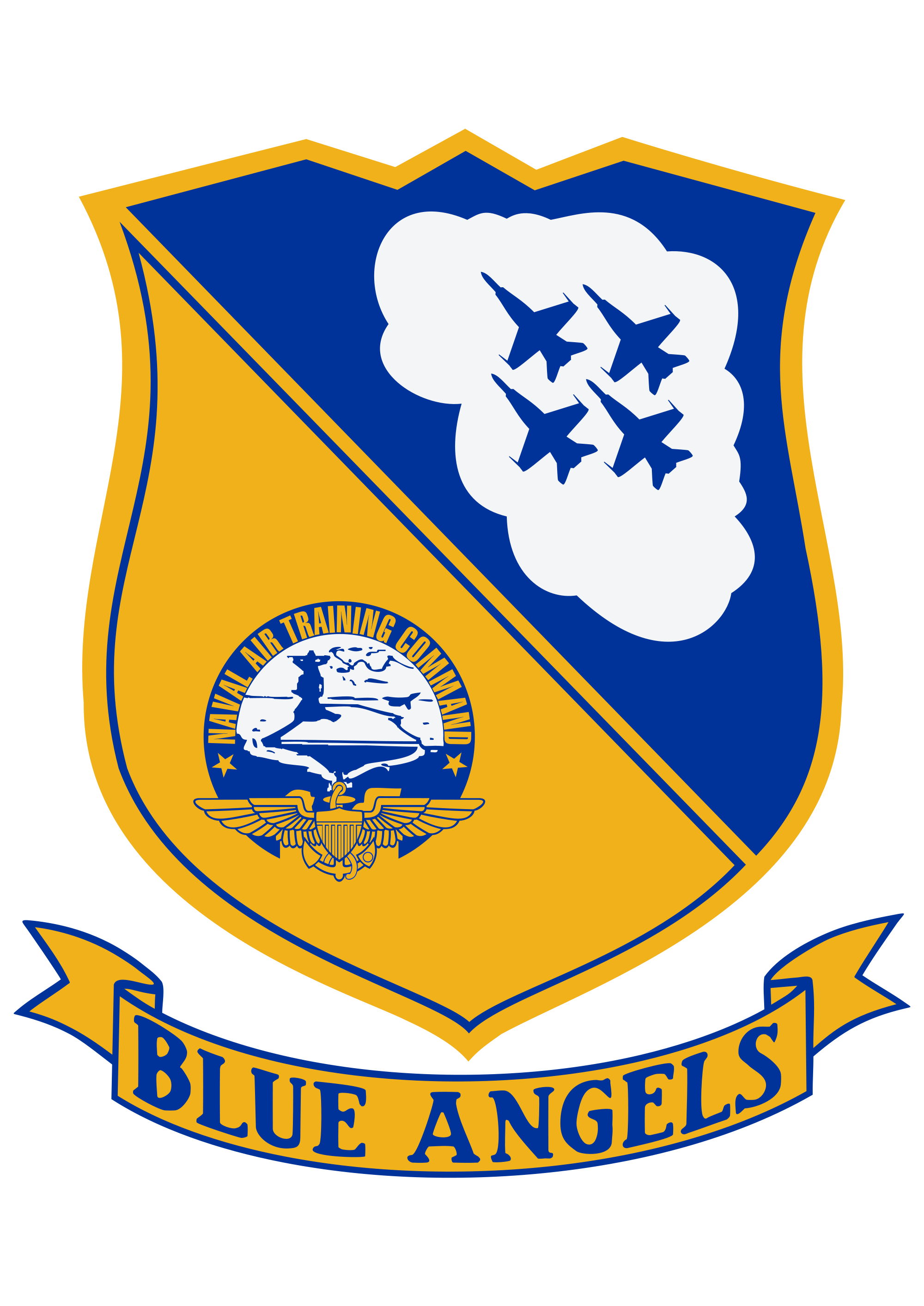 jpg freeuse download File blue angels svg. Vector emblem insignia