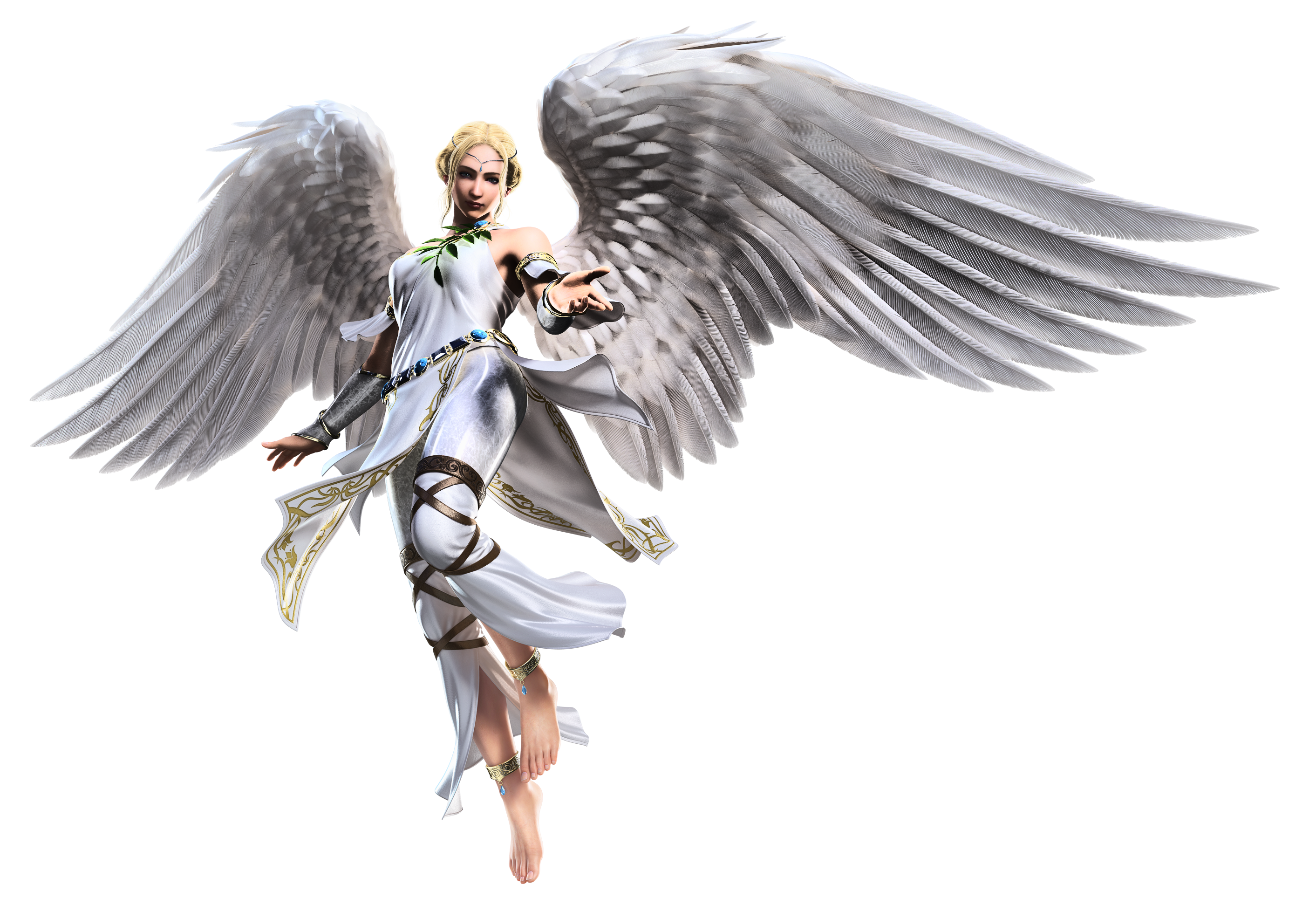 clip art royalty free Vector angel transparent.  archangel for free