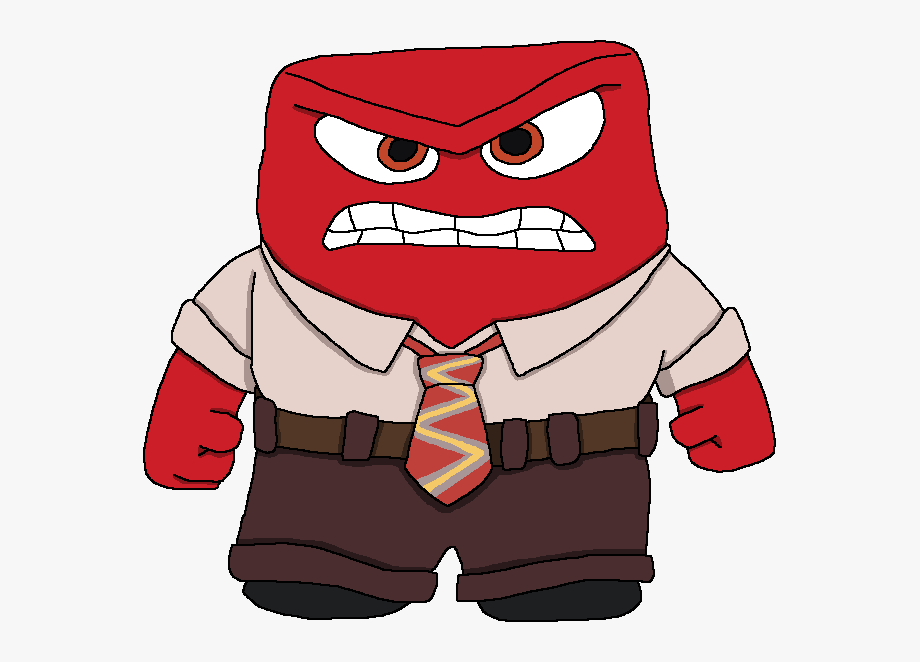 vector library Anger clipart. From inside out