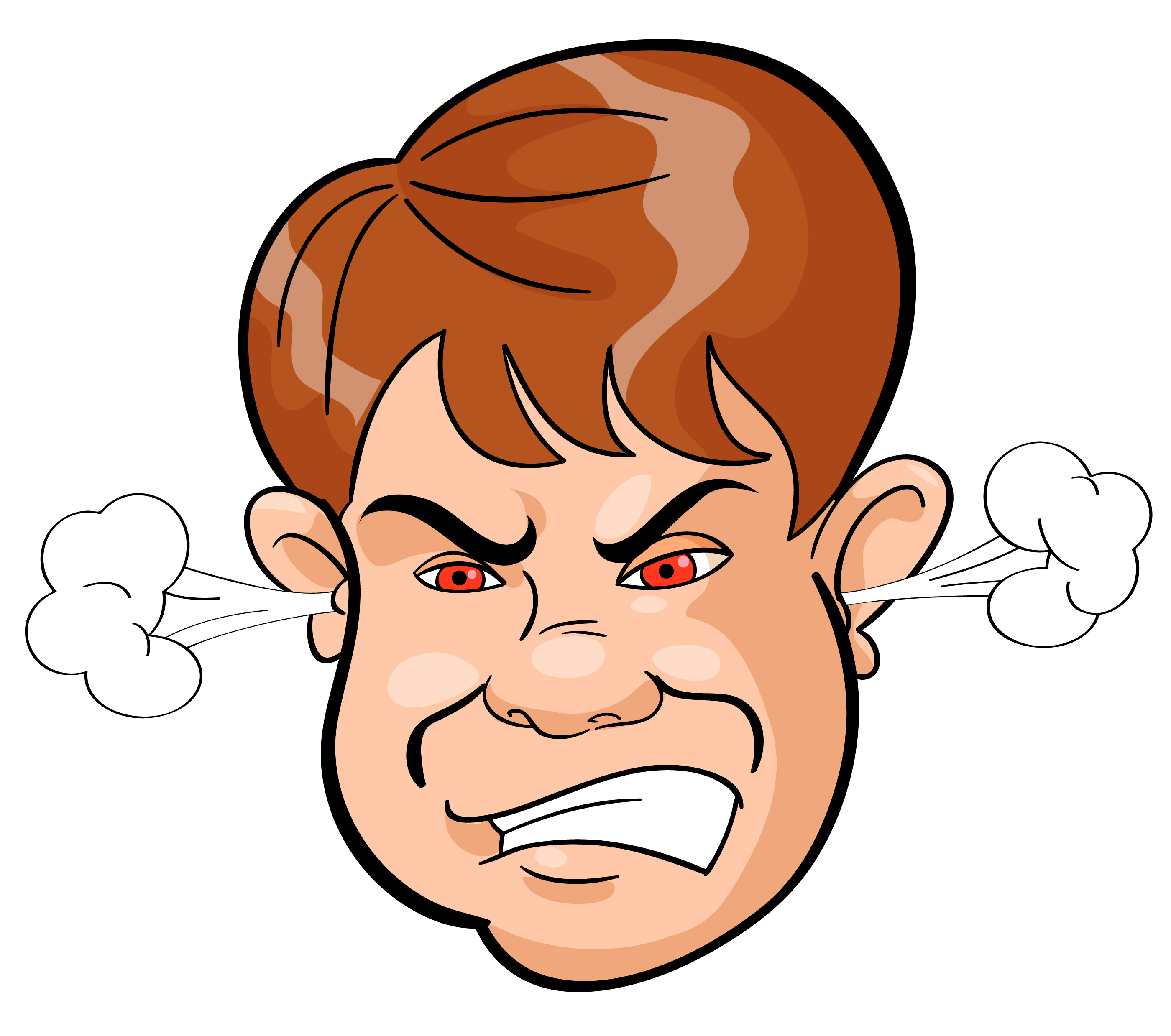 vector stock Angry free download clip. Anger clipart