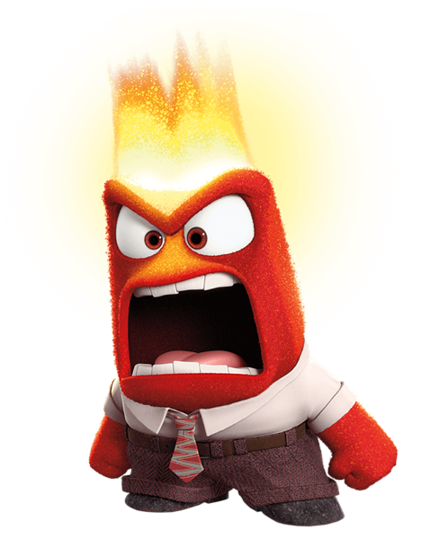 banner royalty free Anger inside out free. Brain clipart angry