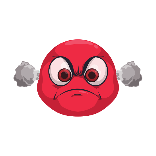 clip free library Angry Cartoon Face