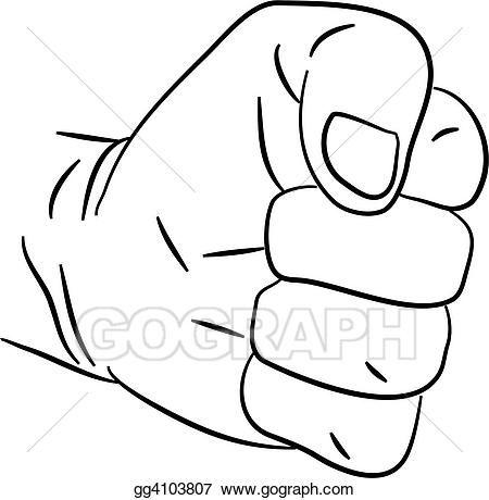 banner royalty free stock Anger clipart angry fist. Stock illustration clenched gg.