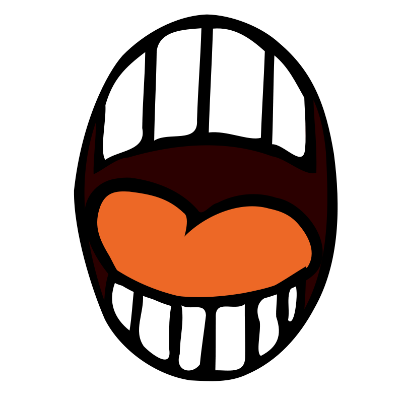 clip freeuse Anger clipart mouth