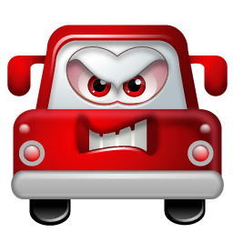 clipart stock Angry car icon png. Anger clipart furious