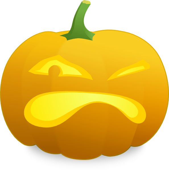 transparent stock Angry Jack O