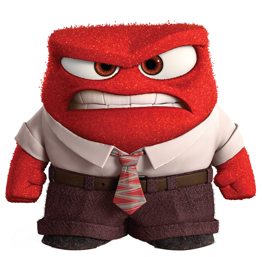 clip freeuse stock anger clipart inside out #76054191