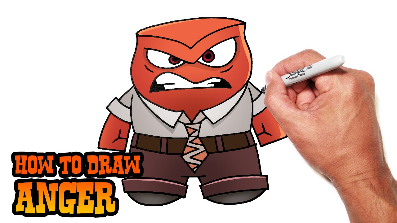 svg black and white download How to inside . Drawing out draw anger