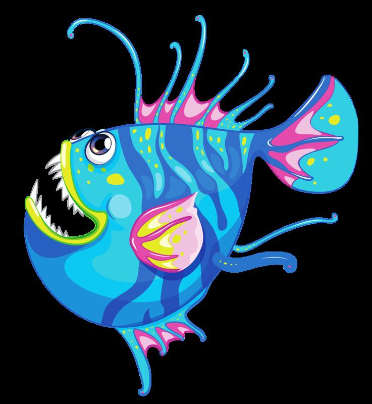 vector freeuse library Angler Fish Clipart at GetDrawings