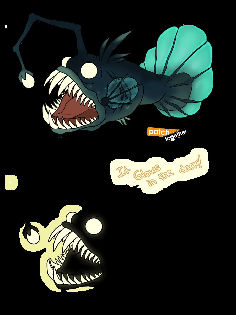 image freeuse library Angler Fish V