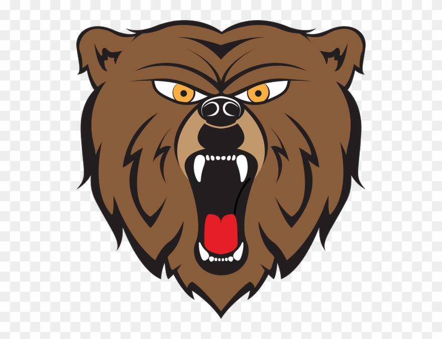 image download Angry bear clipart. Cartoon pinclipart