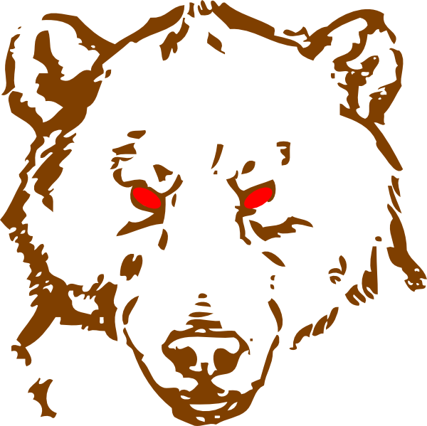 jpg free library Angry Bear Clip Art at Clker