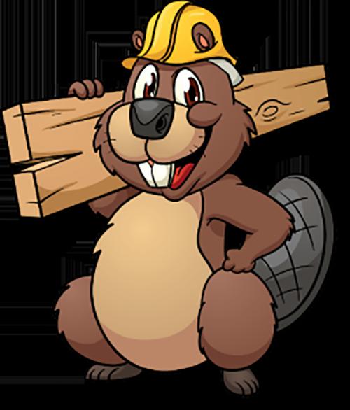 image freeuse stock Clip art cute worker. Cartoon beaver clipart