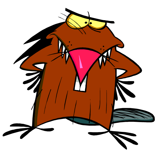 picture free angry beaver clipart #56672657