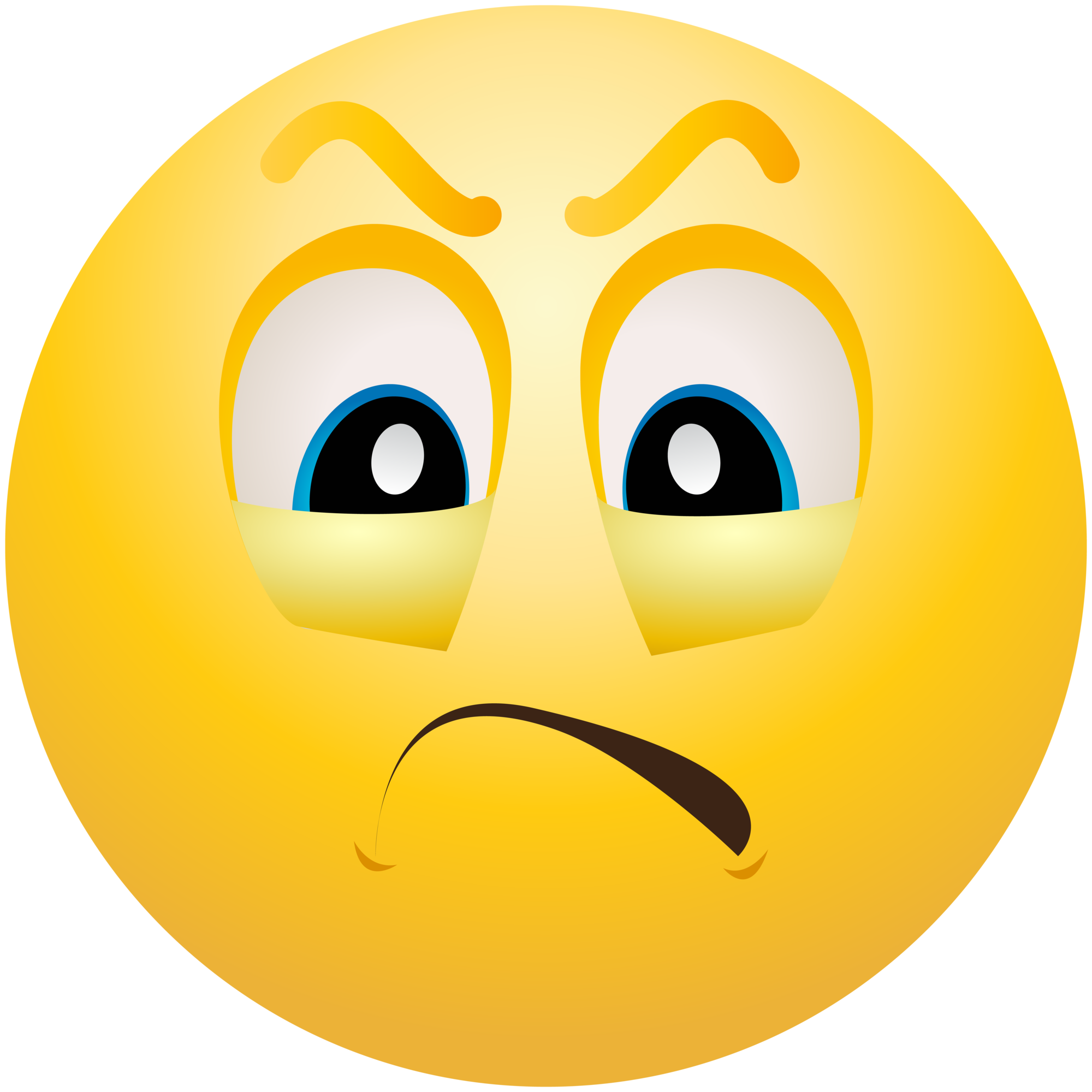 jpg library stock Emoticon emoji info . Angry clipart.
