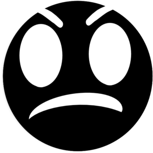 vector royalty free download Angry clipart angry face. Draft clip art at.