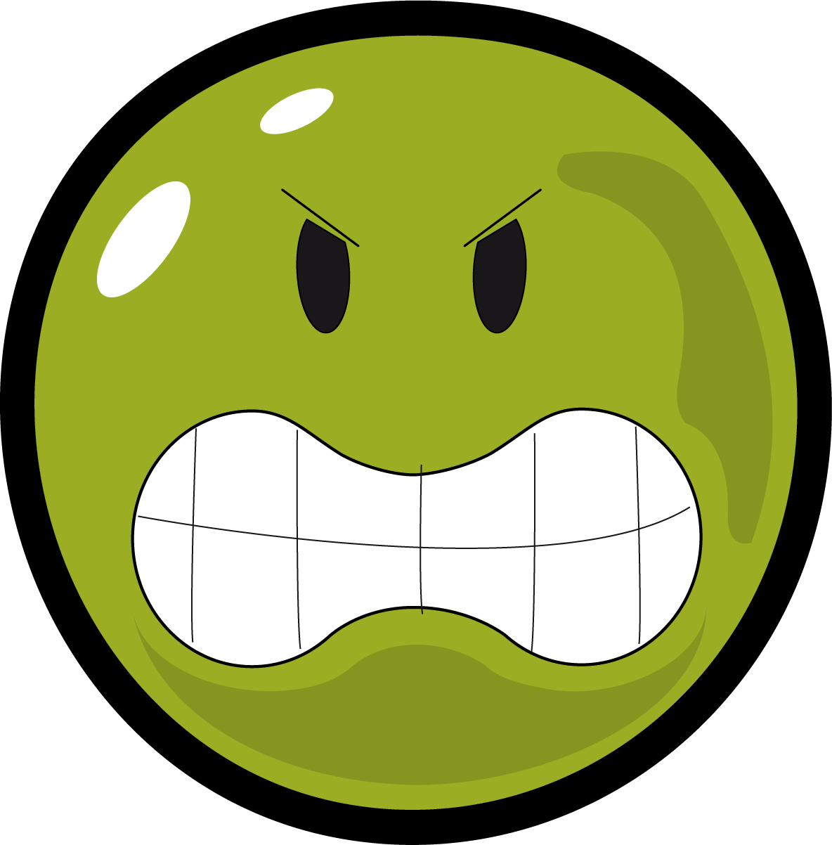 picture royalty free library Angry clipart angry face. Smiley clipartly comclipartly com.