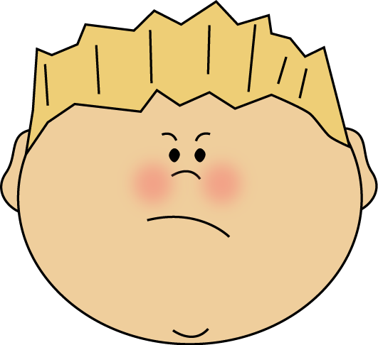 picture freeuse library Boy education pinterest and. Angry clipart angry face.