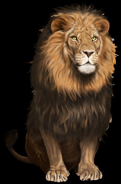 banner freeuse stock Transparent lion picsart. Png clip art image
