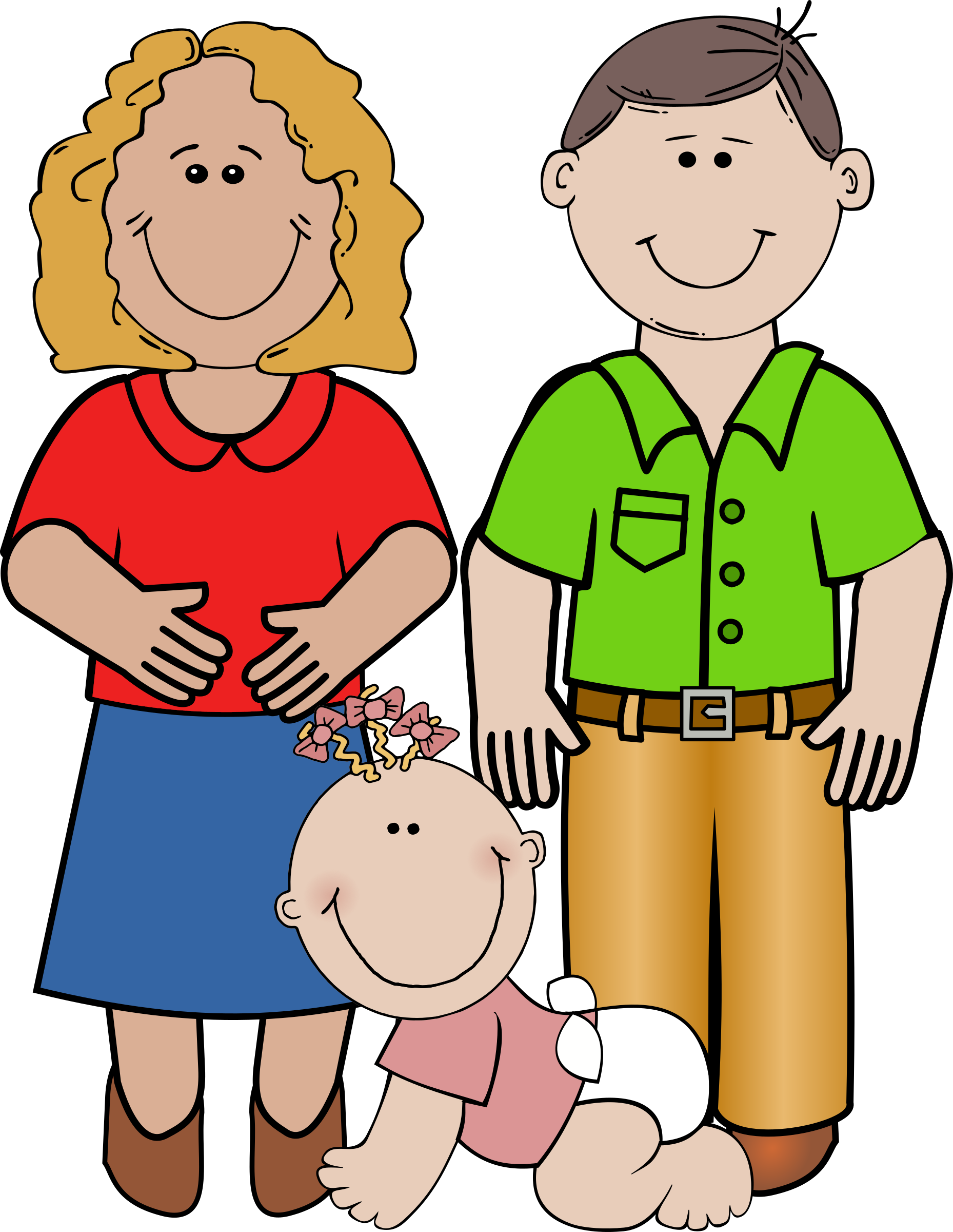 black and white library Clipart mother. And child at getdrawings