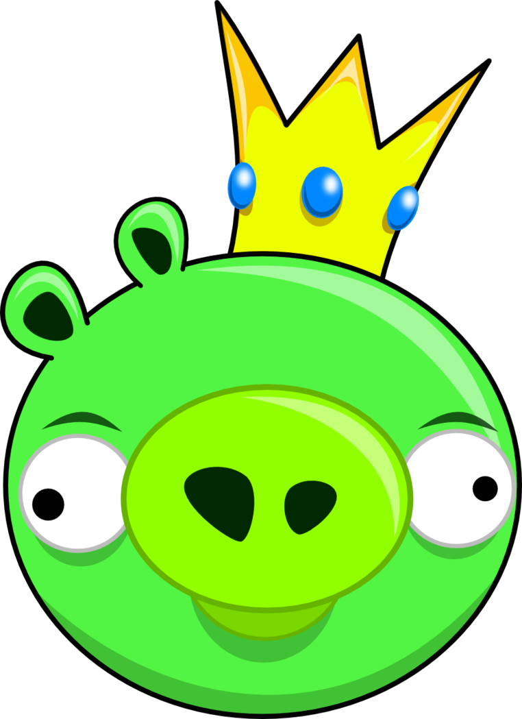 picture King clip angry. Birds pig like figures