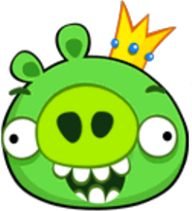 transparent library Image the pig png. King clip angry