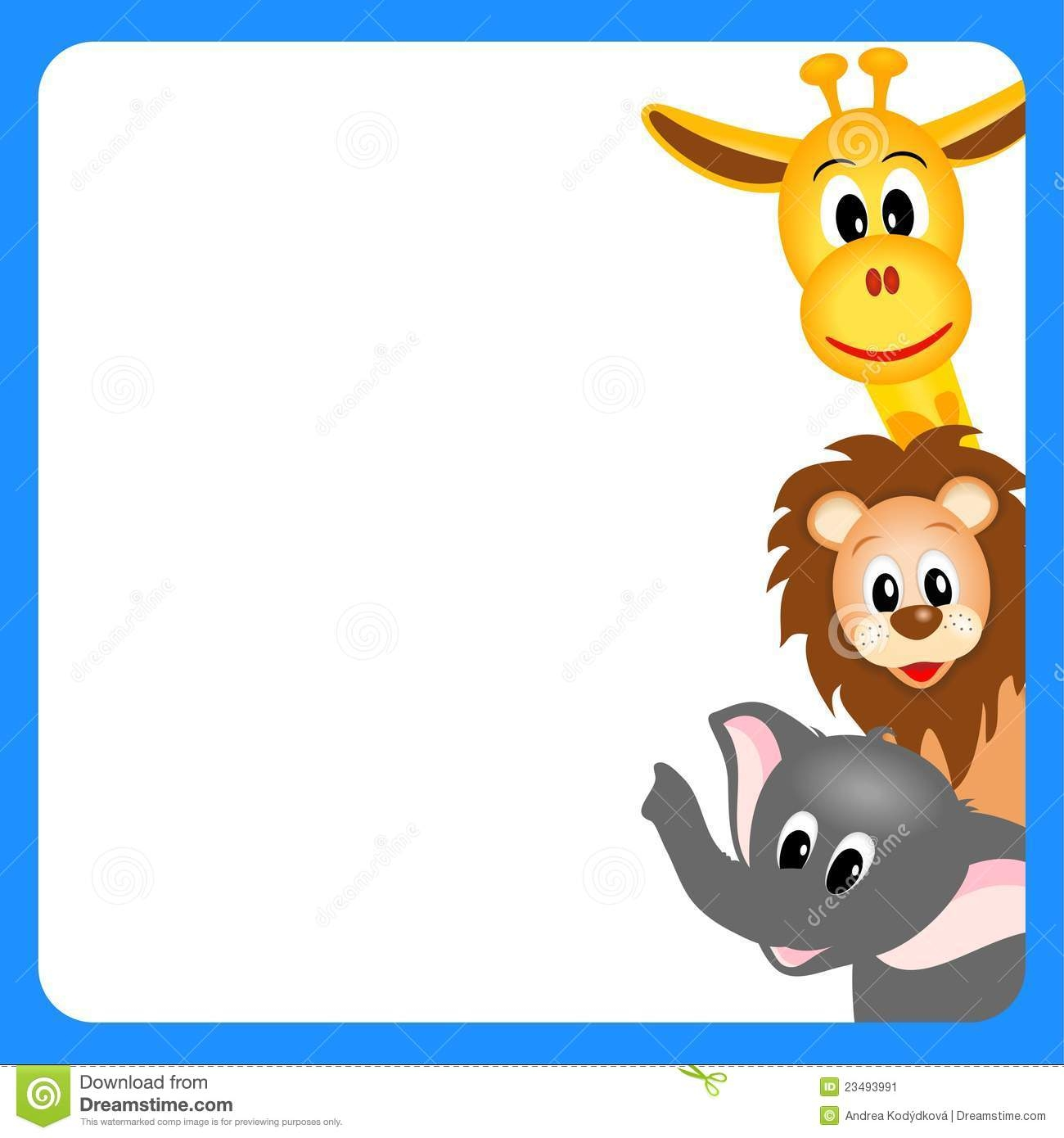 vector freeuse library Free animal cliparts download. Zoo border clipart