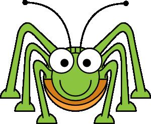 banner royalty free stock Animal clipart insect. Studiofibonacci cartoon grasshopper clip.