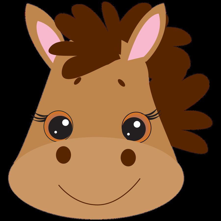 clip freeuse download Animal faces clipart. Farm minus clip art