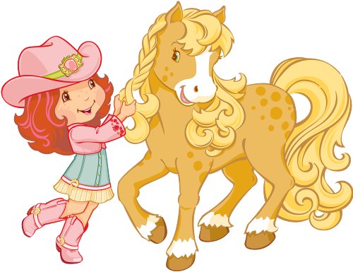 svg free stock Strawberry shortcake and . Animal friends clipart