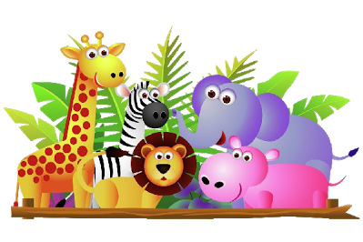 clip black and white library Animal group clipart. Free cliparts download clip